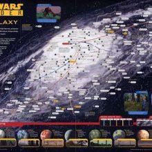 INCRÍVEL: Mapa da Galáxia de Star Wars (em alta definição)