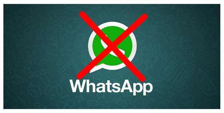 Cancelar Desativar WhatsApp
