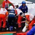 Imagens arrepiantes do acidente de Jules Bianchi no GP do Japão F1 (video e fotos)
