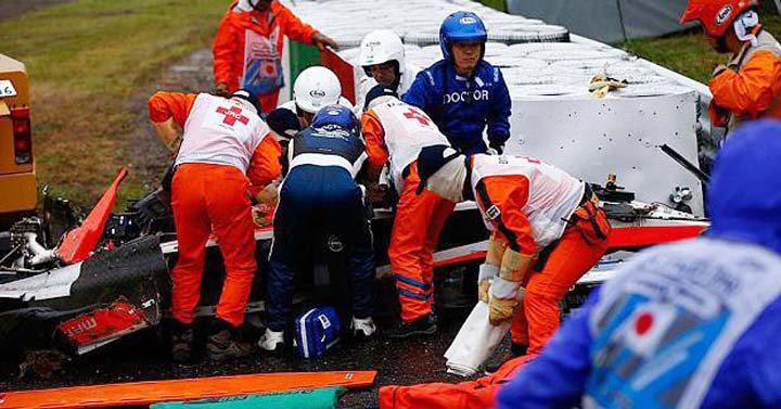 Jules Bianchi Acidente crash Japan GP