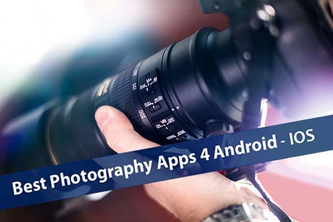 melhores app fotografia
