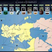 GOT: conheça a mais espetacular série de Mapas de Game of Thrones