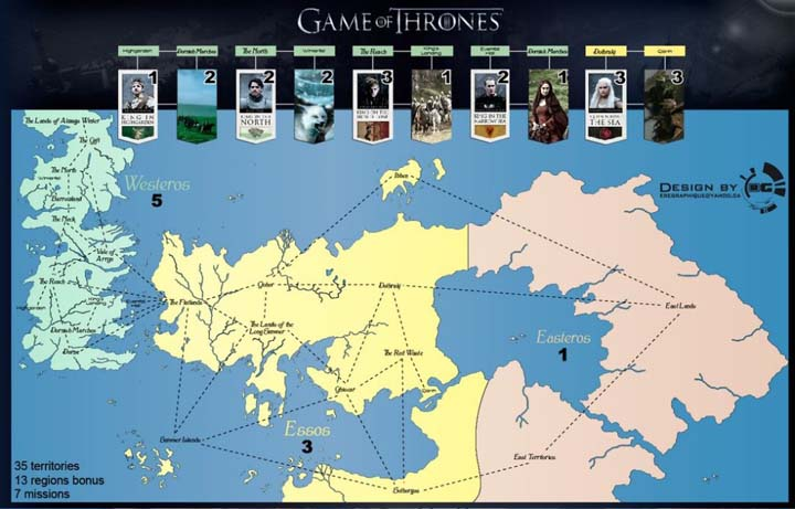 Got Conheça A Mais Espetacular Série De Mapas De Game Of Thrones