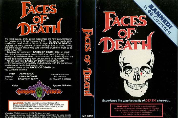faces da morte faces of death