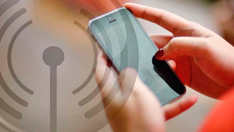 Aviso sem Serviço de Dados Móvel Celular