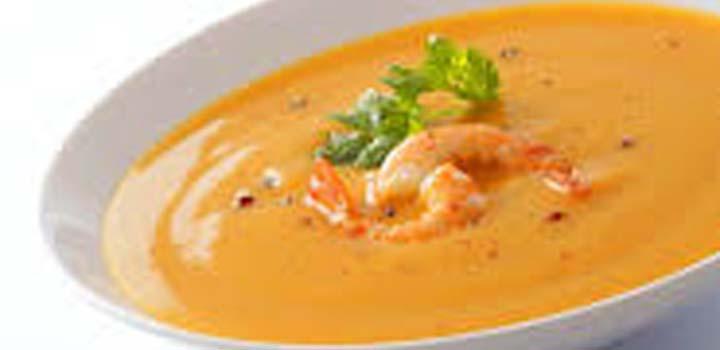 Receita Sopa de Camarao
