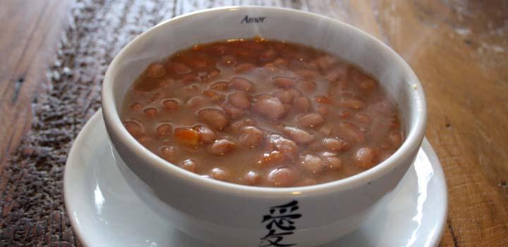 Receita Sopa de Feijao