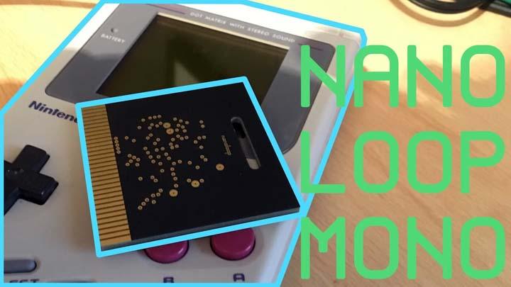 Game Boy Sintetizador Nanoloop