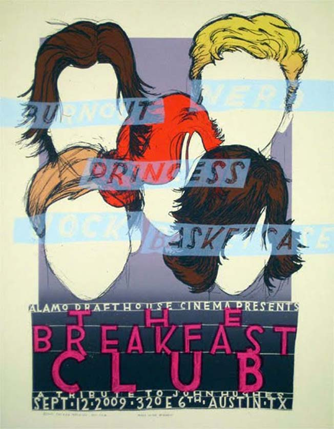 posters alternativos de Breakfast Club