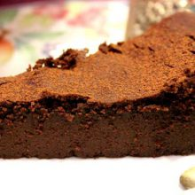 Seus problemas acabaram: Bolo de Chocolate sem Farinha!