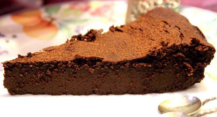Bolo de Chocolate sem Farinha sem gluten
