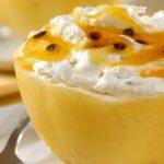 Nhami: Receita caseira do delicioso Sorvete Gourmet de Maracujá